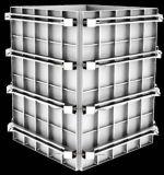 Système de coffrage de fléau d'alliage d'aluminium