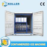 usine de machine containerisée de bloc de glace de 20ft ou de 40ft avec la qualité