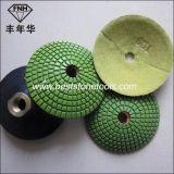 Diamant-konvexe Polierauflagen für die Anwendung des normalen flachen Beistands