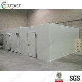 Sitio modular de conservación en cámara frigorífica para los vehículos y las frutas