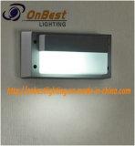 Iluminación ligera de la pared del tabique hermético 9W LED en IP55 para las paredes al aire libre del edificio