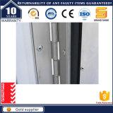 Doubles portes en aluminium modernes de charnière avec Dix ans de garantie