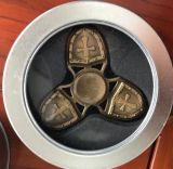 Filatore in lega di zinco ad alta velocità di irrequietezza del crociato dello schermo di irrequietezza del filatore della mano con cuscinetto di ceramica 608