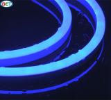 Lumière au néon imperméable à l'eau colorée de câble de W/Ww/R/G/B/Y/P DEL avec 2835 5050