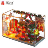 Weihnachtsgeschenk-bauen pädagogischer Spielwaren-Typ Selbst Spielwaren zusammen