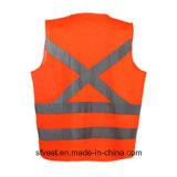 Codice categoria 2 100% maglie riflettenti del Workwear di Outdooor di sicurezza del poliestere