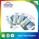 Brochure de carte couleur personnalisée