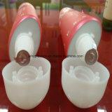 Tubo cosmético para el empaquetado poner crema del pie