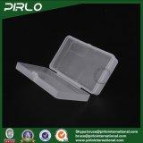 Rechteckiger pp.-Plastikkasten mit Hing Kappen-lichtdurchlässiges Farben-leeres Plastikspeicher-Glas-Multifunktionskästchen