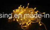 Corda clara decorativa interna/ao ar livre do feriado do diodo emissor de luz