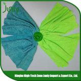 Pista azul y verde, limpia de la fregona de Microfiber, arreglo para requisitos particulares