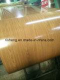 カラーコーティングの上12-20um、背部5-7umが付いているPrepainted電流を通された鋼鉄コイル