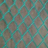Cerca revestida de la conexión de cadena del acoplamiento/PVC del parque zoológico de la alta calidad