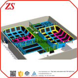 Sicherheits-Innensprung-Zonen-Trampoline-Park-/Customized-Trampoline-Park