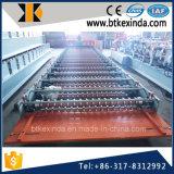 Roulis de feuille de toiture en métal de Kxd 988 Corrguated formant la machine