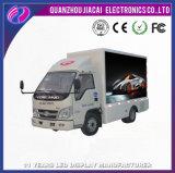 Vehículo publicitario móvil eléctrico, coche al aire libre de la cartelera del LED