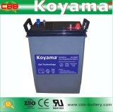 Батарея 6V 420ah цикла электрической шлюпки цены по прейскуранту завода-изготовителя глубокая