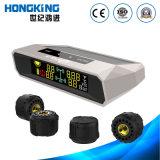 Draadloze ZonneTPMS met de Externe Sensor van de Band voor Auto, Bestelwagen, 4WD