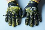 Желтое популярное новое вспомогательное оборудование Motocross участвуя в гонке перчатки (MAG09)