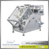 Botão automático de alta precisão, pressão metálica, máquina de empacotamento com zíper