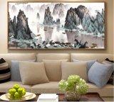 짜맞춰진 전통 중국어 조경 유화는 거실, 침대 룸, 스튜디오 및 사무실을%s 화포에 인쇄했다