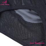 Adelgazando negro traslúcido de cintura alta butt levantar panty