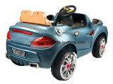 Carro elétrico modelo do brinquedo dois com projeto dobro da Abrir-Porta para o bebê dos miúdos