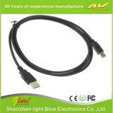 Shenzhen-Fabrik, die schwarzen Kurbelgehäuse-BelüftungUSB morgens an Schwerpunktshandbuch-Kabel verkauft
