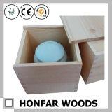 Незаконченная сырцовая коробка деревянной коробки деревянная упаковывая с верхней частью скольжения