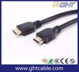 câble extérieur épais 1.4V (D004) du diamètre HDMI de qualité de 3m