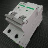 interruttore non polarizzato miniatura di CC dell'interruttore di CC 2p con i certificati di TUV da 1A a 63A