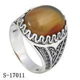 Nuovi modelli 925 anelli musulmani degli uomini dell'argento sterlina