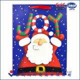 주문 선물 사치품은 로고 인쇄를 가진 예술 백색 Kraft 인쇄한 쇼핑 또는 커피 종이 봉지를 재생한다