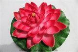 Цветки лотоса лотоса большого размера дешевые плавая искусственние для украшения