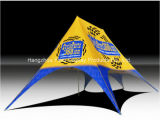 Tente d'ombre d'étoile pour des activités promotionnelles extérieures