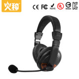Cuffia stereo all'ingrosso del calcolatore portatile di Hz-325 Cina audio con il microfono