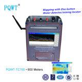 Spätester der Technologie-Pqwt-Tc700 Wasser-Maschinen-Wasserstrom-Detektor Grundwasser-des Detektor-600m