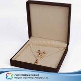 腕時計の宝石類のギフト(xcdB018)のための贅沢な木かペーパー表示荷箱