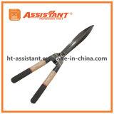 Инструменты сада выковали Undulated ножницы изгороди лезвия с деревянными ручками