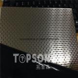 Plaque d'étage gravée en relief de haute résistance de diamant de l'acier inoxydable 304