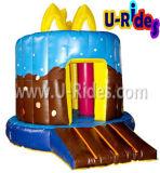 Gorila inflable de la torta de cumpleaños 2015