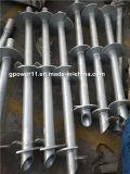 De de Gegalvaniseerde Q235 Spiraalvormige Pijlers van de goede Kwaliteit of Stapels van de Schroef