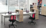 家庭内オフィスの家具の現代管理のコンピュータのラップトップ表