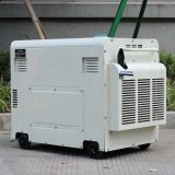 バイソン(中国) BS6500dseの工場価格5kw 5kVA 5000Wのキーの開始の長期間の時間無声携帯用Air-Cooledディーゼル発電機