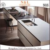 2017 New Modular Melamine PVC Wood Kitchen Cabinet