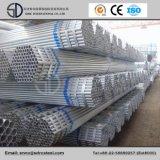 Frío galvanizado tubo redondo de acero al carbono laminado