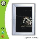 Напольная акриловая рамка фотоего рекламируя светлую коробку