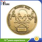 Покрынная эмалью высоким качеством монетка металла сувенира
