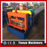 Aficanの市場のための機械を形作る艶をかけられた屋根瓦シートロール