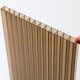 Polycarbonat-Doppelwand-Höhlung-Blatt für Aufbau-Baumaterial